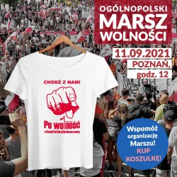Koszulka damska Po Wolność...