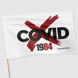 Flaga Stop Covid 1984